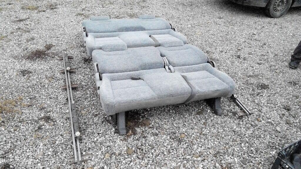 Mazda Bongo Seats,rails,runners Belts.VW T5 T4 Trafic Conversion. Folds
