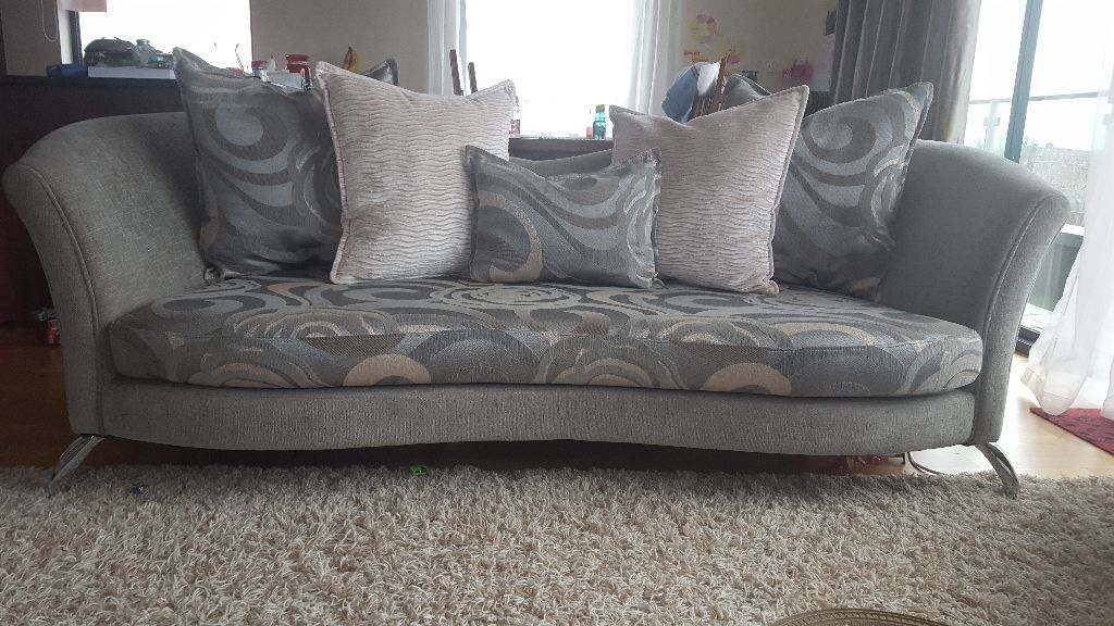 2 And 3 Person Beautiful Sofas U0026 Footstool (from DFS Sofa Suite   Nikita  Range