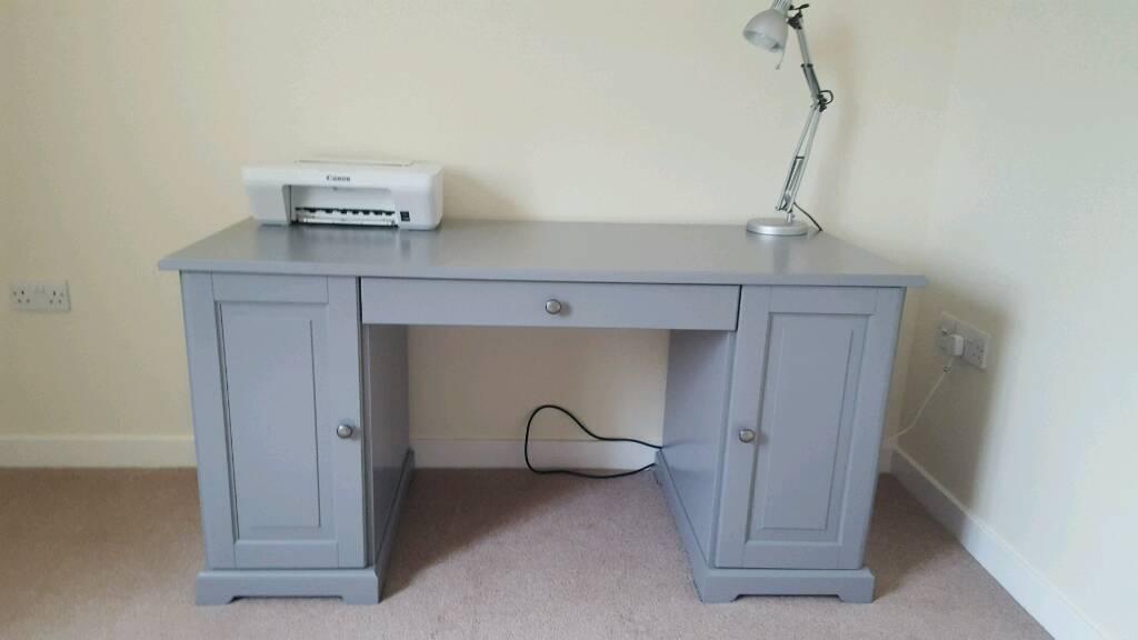 Ikea Liatorp Desk With Grey