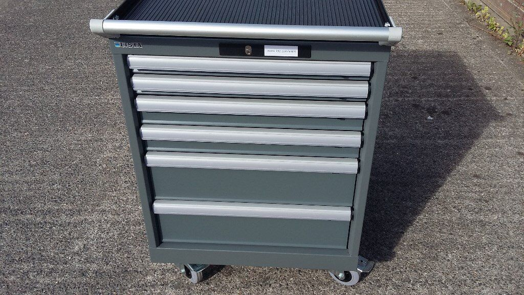 Awesome Lista Storage #29 - LISTA PROFESSIONAL TOOL BOX ROLL CAB TOOLBOX STORAGE MOBILE NEW