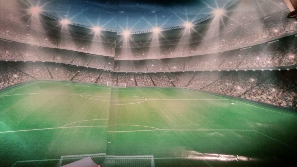 Football Stadium Wallpaper Mural for bedrooms  in Ossett, West Yorkshire   Gumtree