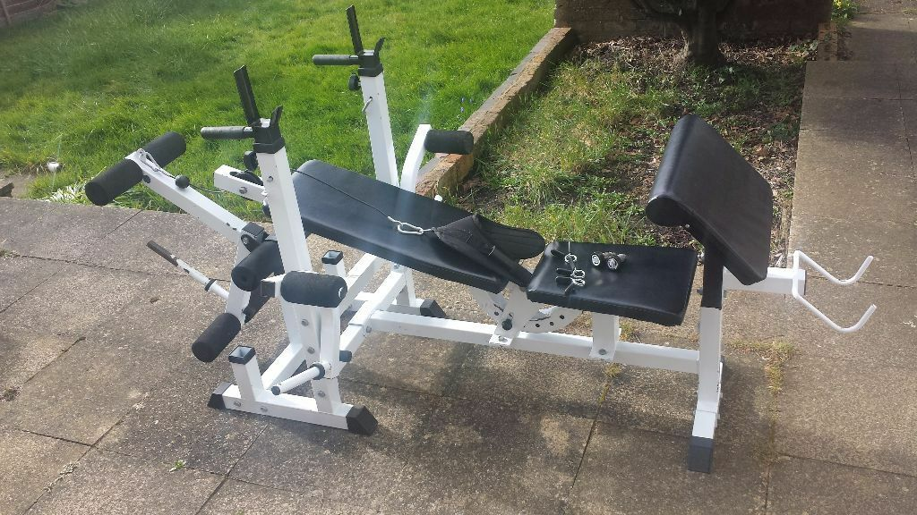 Beau Gorilla Sports Universal Weight Bench Workstation Multi Gym