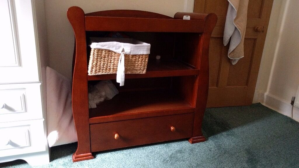 Babies R Us Sleigh Dresser/Baby Changing Table