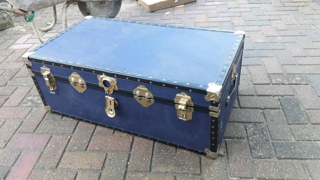 Blue Storage Trunk