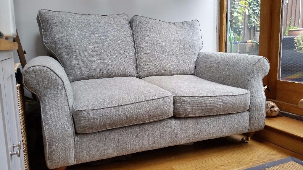 Next Ashford Small 2 Seater Sofa In Boucle Weave Light Dove