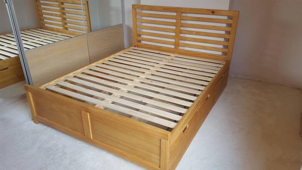 John Lewis Nevada Storage Bed Pre-owned & John Lewis Nevada Storage Bed Pre-owned | in Carlton ...