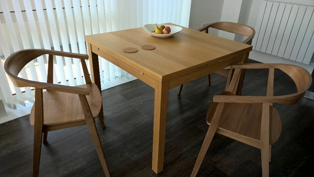 Genial New Ikea STOCKHOLM Dining Chairs And BJURSTA Table   Flat Packed