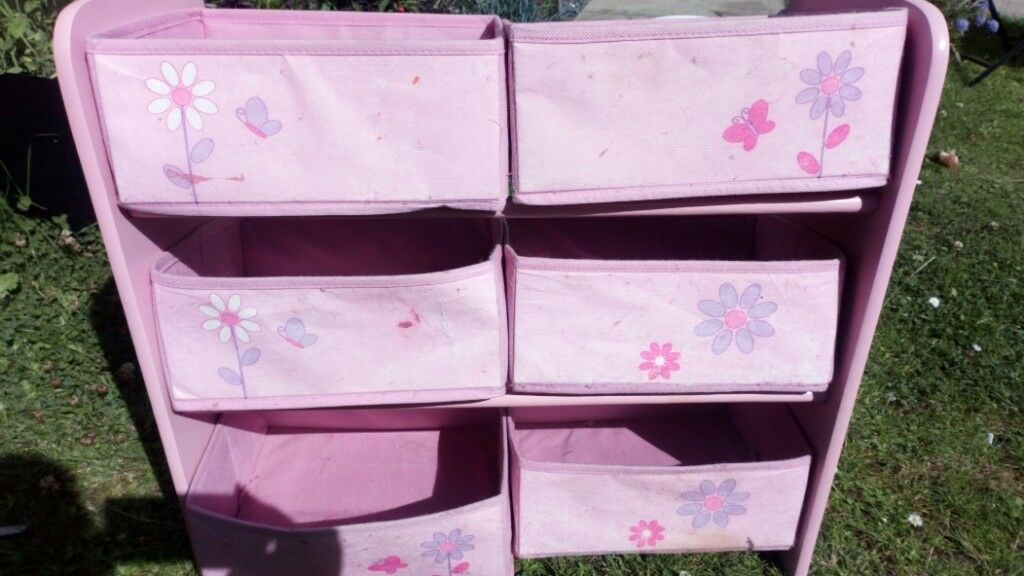 & Girls toy storage unit | in Dunfermline Fife | Gumtree