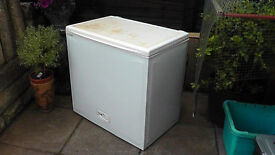 145 Litre Freezer Suitable For Garage/outhouse. Used And Slightly Soiled.