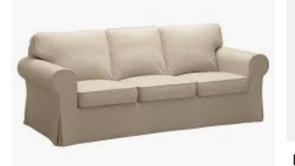 Merveilleux Ikea Ektorp 3 Seater Sofa Cover Beige