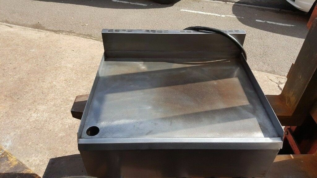 BURGER HOUSE PUB MOORWOOD VULCAN GRIDDLE, FLAT GRILL 60CM SINGLE PHASE ELECTRIC  TABLE TOP