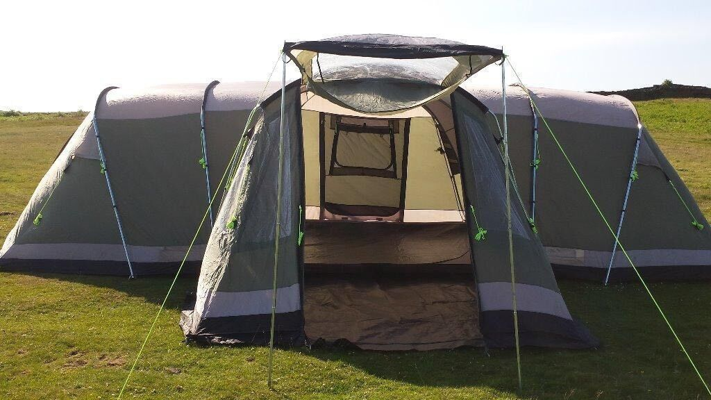Outwell Nebraska XL 8 Man Tent & Outwell Nebraska XL 8 Man Tent | in Blacon Cheshire | Gumtree