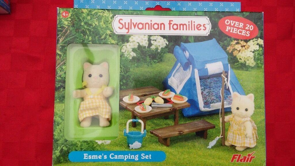 Sylvanian Families Playset Esmeu0027s C&ing Set & Sylvanian Families Playset Esmeu0027s Camping Set | in Abbeydale ...