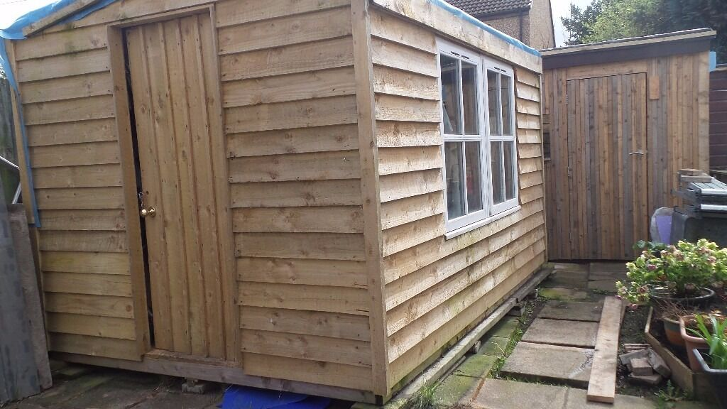 Exceptional New Hand Built Garden Shed For Sale