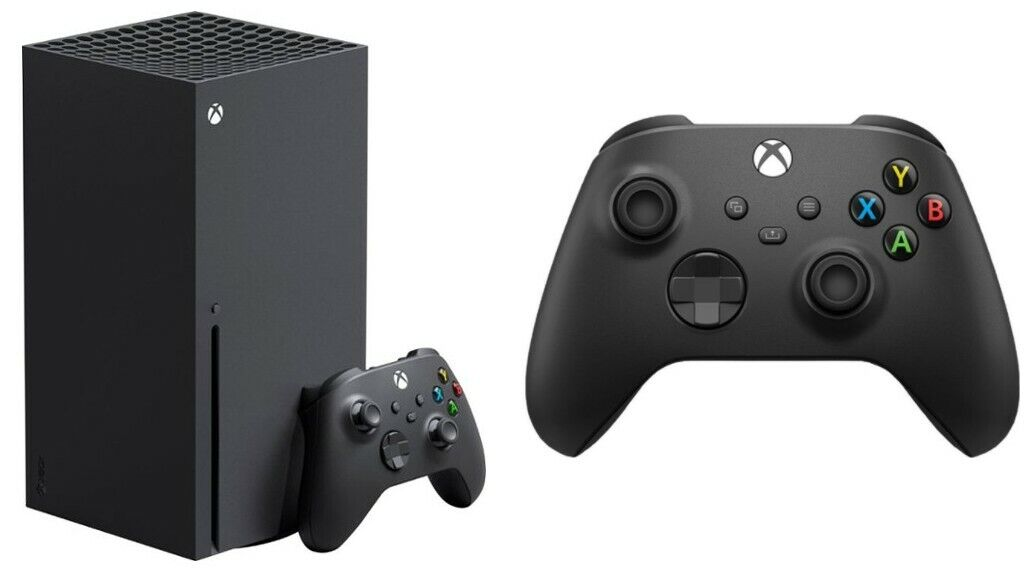 Package - Microsoft - Xbox Series X 1TB Console - Black and Xbox One and Series