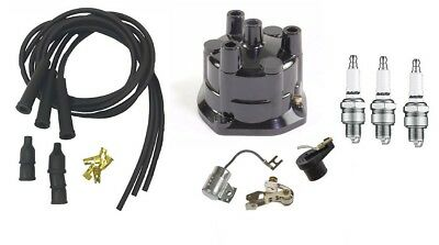 Distributor Ignition Tune Up Kit Massey Ferguson Mf135 Mf150 Tractor 3 Cyl Al405