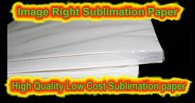 Image Right Premium Sublimation Paper - 8.5 X 11 100 Sheets