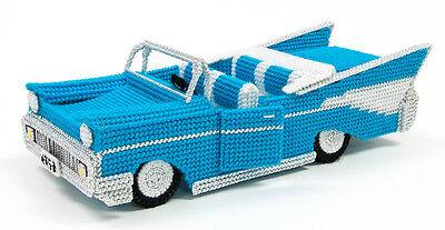 Mary Maxim Retro Car Plastic Canvas Kit