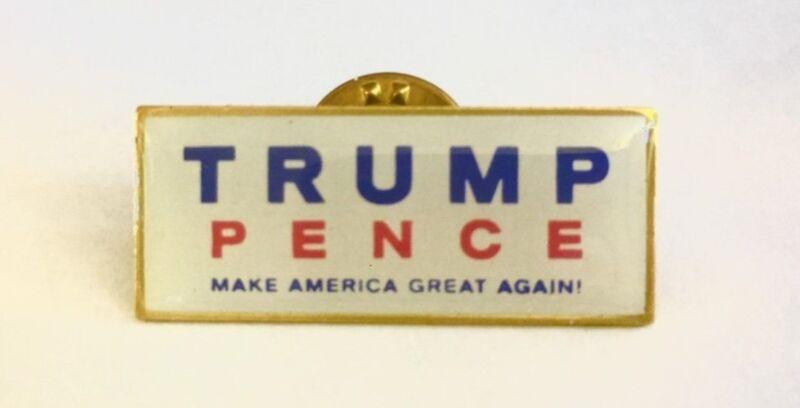 Trump Pence Make America Great Again Lapel Pin MADE IN USA President Patriotic