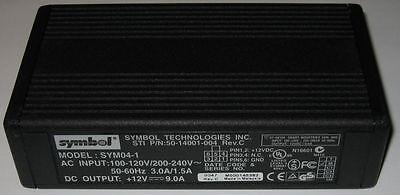 Symbol 12 V Dc - 9 Amp Regulated Power Supply - Fan Cooled - 12v - 9a