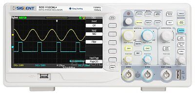 Siglent Sds1152cml 2-channel Digital Oscilloscope 150 Mhz 1 Gsas 2 M