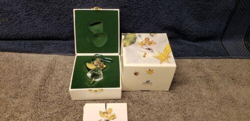 Swarovski 1998 Christmas Memories Angel NEW With Box