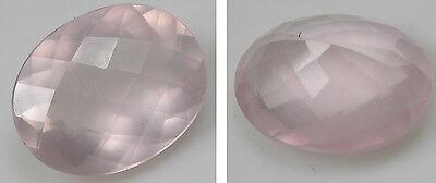 20.50Ct or 4.10g Brazil 100% Natural Rose Quartz Clean Crystal Gemstone