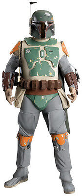 Star Wars Boba Fett Bounty Hunter Supreme Edition Collector Rental Adult Costume](Bounty Hunter Costumes)
