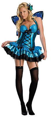Fantasy Fairy Damenkostüm Gr. S Sexy Fee Schmetterling Kostüm Karneval , (K) ()