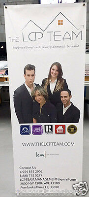 X Banner Stand 24 X 63 Trade Show Display Pop Up Advertising
