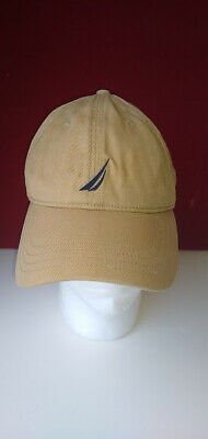 VINTAGE Nautica Strap Back Hat Cap Sailing Baseball Mens 90s