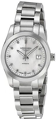 L2.285.4.87.6 | BRAND NEW LONGINES CONQUEST CLASSIC AUTOMATIC WOMENS WATCH