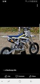 husqvarna TC50 3hrs from new motocross bike with extras