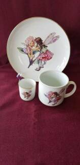CHILDRENS CROCKERY SET FAIRY DESIGN