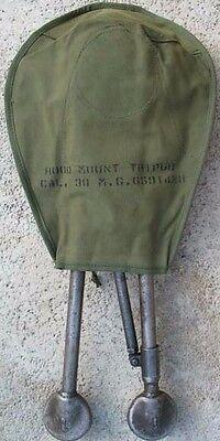 US BROWNING M1919 M2 TRIPOD COVER HOOD VIETNAM ERA NOS 1973 DATED