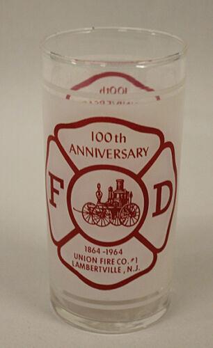 Lambertville, NJ Fire Department 100th Anniversary Tumbler