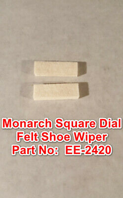 Monarch 10ee Square Dial Metal Lathe Part Ee-2420 Flat Felt Shoe Wiper