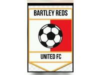 Bartley Reds FC u13's players required.