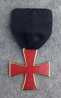 Masonic Knights Templar Order of the Red Cross Jewel (RCJ-1)