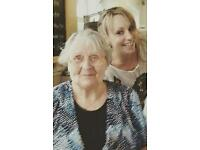 Qualified Carer available for part time support at home