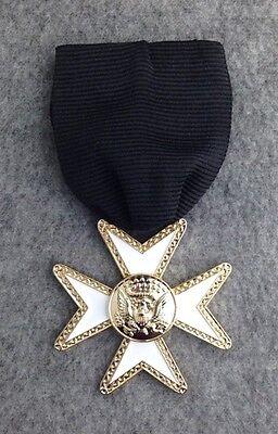 Masonic Knights Templar Knight of Malta Jewel (MJ-1)
