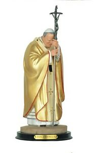 12 Inch Pope John Paul II Holy Collectible Statue Figurine Saint Religious