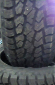 16 inch tires —4 of them—LT235/85/16(NEW TREAD) They are Rovelo