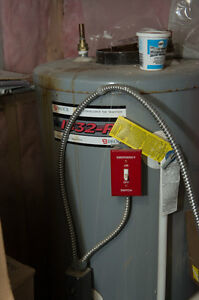 Oil fired Burner and Hot water Heater..150.00