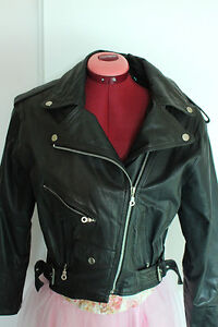 Women's Genuine Leather Motorcycle Jacket Size Small (3) London Ontario image 1
