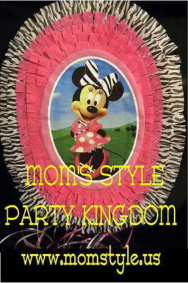 MInnie Mouse pinata Birthday Party decor - Minnie Mouse Pinatas