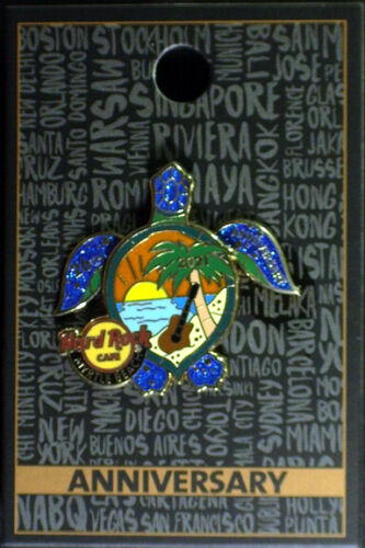 MYRTLE BEACH HARD ROCK CAFE 26H ANNIVERSARY ANNIVERSARY SEA TURTLE PIN LIMITED