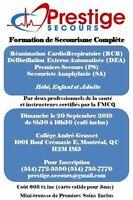 Formation de Secourisme Complète: RCR, DEA, PS, SA
