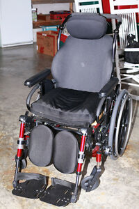 Quickie Iris tilt wheelchair