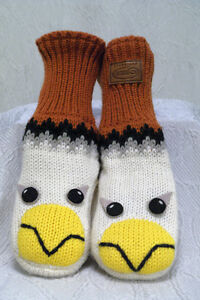 Mittens Kyber Outerwear WHITE EAGLE Warm Winter Wool London Ontario image 2